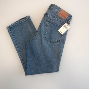 Lucky Brand Jeans Authentic straight crop 6/28